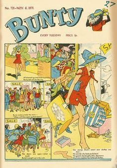 Bunty comic, cost sixpence every Tuesday ~Remember the 4 marys~ 1970s Childhood, My Childhood Memories, Vintage Comics, Vintage Books, Children's Comics, Retro Toys, 70s Toys, I Remember When, Teenage Years