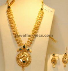 Latest Gold Haram designs 2013 in Hyderabad - Latest Jewellery Designs