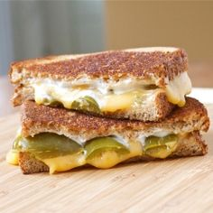 Jalapeno poppers grilled cheese...this website has an amazing collection of recipes