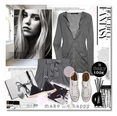 """Casual Monochrome"" by stylemeup-649 ❤ liked on Polyvore featuring Marc by Marc Jacobs, 3.1 Phillip Lim, A'N'D, Converse, Avenue, Fornasetti, Sagaform, StriVectin, Bobbi Brown Cosmetics and monochrome"