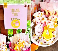 Modern Bunny & Bear Cookout Party by KaLice Events