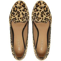 Aldo Buschur Leopard Pony Slipper Shoes and other apparel, accessories and trends. Browse and shop 26 related looks. Leopard Loafers, Leopard Print Shoes, Cute Shoes, Me Too Shoes, Crazy Shoes, Pumps, Heels, Fashion Shoes, Shoe Boots