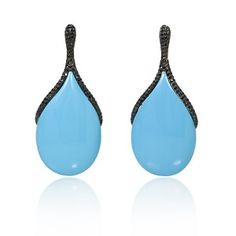 turquoise black diamond jewelry