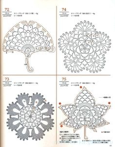 Gallery.ru / Фото #68 - Lacework Flower Design - nezabud-ka