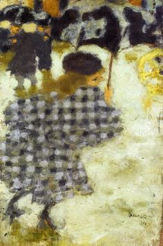 Young Girl with Umbrella, 1894, Pierre Bonnard    Size: 26.7x17.5 cm  Medium: oil on panel