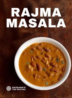 This Rajma recipe is a lightly spiced, creamy and a delicious Punjabi curry made with kidney beans, onions, tomatoes and spices. Rajma masala is a weekend affair and a Sunday lunch. This particular rajma recipe made restaurant style goes very well with both steamed rice as well as naan. And when you have rajma and rice, do you need anything else? #rajma #rajmamasala #masala #indiancurry Snacks Recipes, Veg Recipes, Curry Recipes, Indian Food Recipes, Recipies, Cooking Recipes, Vegetarian Curry, Vegetarian Snacks, Rajma Masala Recipe