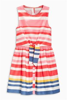 Tie Front Dress (3-16yrs)