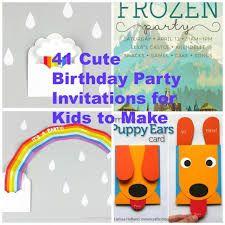 Image result for diy bday invitation cards