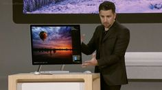 Microsoft introduces its new all-in-one PC, the Surface Studio #MicrosoftEvent #Microsoft #MicrosoftSurfaceStudio