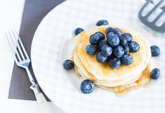 Protein Pancakes mit Blueberries für das perfekte Sonntagsfrühstück