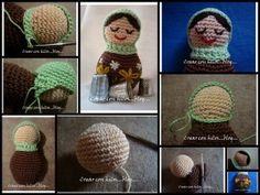 Amigurumi Russian Doll Pattern : Mamushkas crochet crochet fruit and amigurumi
