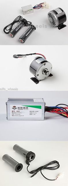 Parts and Accessories 11332: 350 W 24 V Dc Electric Motor Kit W Speed Controller And Twist Throttle -> BUY IT NOW ONLY: $59.99 on eBay!
