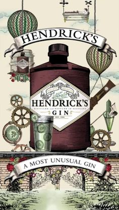 hendricks gin detail