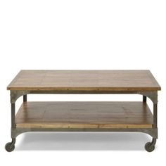 ul li Squaresized parquet coffee table with mangowood tabletop