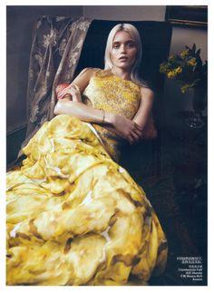 Abbey Lee Kershaw: Vogue China, May '12