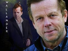 Krister Hendriksson as Wallander in the Swedish television series. He is my favourite Wallander.