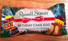 russell stover wedding cake egg | Russell Stover Birthday Cake Chocolate Easter Egg Review - News ...
