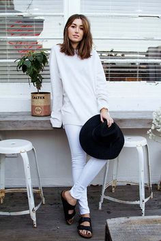 black and white #minimal #style #outfit
