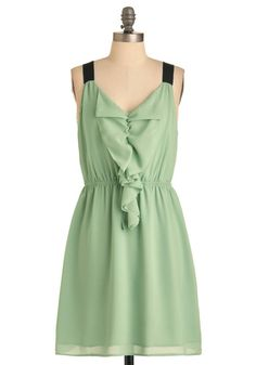 Pistachio Gelato Dress-- Perfect for a spring date night