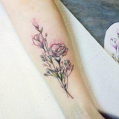 Gorgeous floral piece by Masha