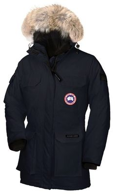 Canada Goose Expedition Parka Navy Womens
