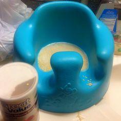 Teething diaper rash....Oatmeal sitz bath!