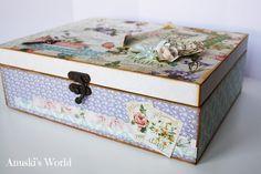 Joyero vintage de madera - Anuski´s World