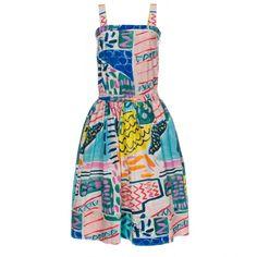 Paul Smith Painted Patchwork Cotton Sun-Dress, $365; paulsmith.co.uk     - ELLE.com
