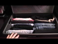 [VIDEO] How to Organize & Fold Jeans in Your Closet