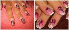 Pink and swirly