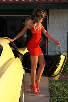 Little Red Dress....if only I had that body!!!