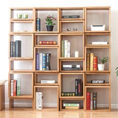 40+ DIY Wooden Bookshelf Inspiration