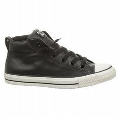 2447a7d4de5474 Men s Chuck Taylor All Star Street Mid Top Leather Sneaker