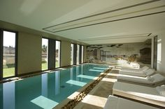 indoor pool for sure!!