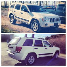 05 Jeep Grand Cherokee Laredo; most likely the one I'll be getting for college