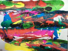 Dream in Color: Abstract by RivkahsArts on Etsy
