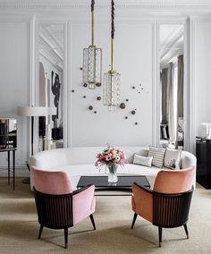 "1,976 Synes godt om, 23 kommentarer – Hanne Gathe (@dactylion_design) på Instagram: ""Such a pretty room by @leylauluhanliinteriors via @elledecorationru . . . . . #elledecorationru…"""