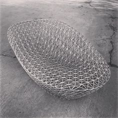 3D Printed Sofa by Janne Kyttanen
