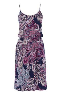 Paisley Print Cami Dress   Multi   Oasis Stores
