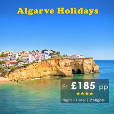 Algarve is the beautiful coastline that extends along the southern side of Portugal. Book #Algarve Holidays only with #HomeandAwayHolidays Holidays starting only Fr £185 pp for 7 nights with Flight.  For Details call our #Holiday Experts on 0116 237 2535 http://bit.ly/AlgarveHolidays2016