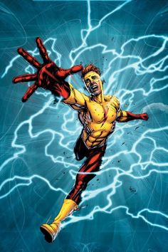 """""""DC Universe: Rebirth"""" Gets a Third Printing, New Wally West Cover by Gary Frank Dc Comics Characters, Dc Comics Art, Marvel Dc Comics, Marvel Avengers, Dc Universe Rebirth, Dc Rebirth, Titans Rebirth, Wally West, Kid Flash"""