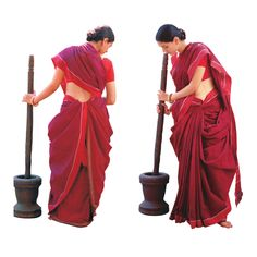 Andhra style. Read more http://fashionpro.me/how-to-wear-a-saree/3