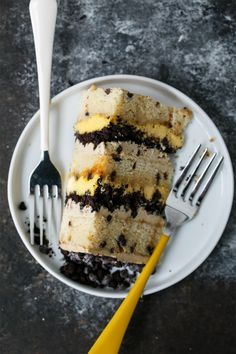 Buttermilk  Chocolate Chip & Passionfruit Naked Layer Cake Recipe