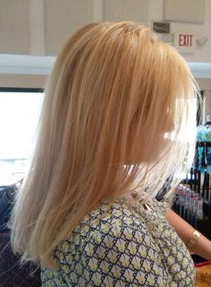 Brilliant Blonde Highlight & Haircut by Rose