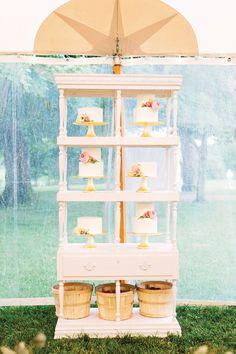 Peach Virginia Wedding by Katie Stoops and Adam Barnes