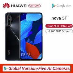 Global Version Huawei Nova 5T Smartphone 48MP //Price: $466.48 & FREE Shipping // #beauty #beautiful #girl