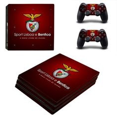 Sport Lisboa e Benfica Ps4 pro edition skin decal for console and controllers