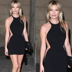 Kate Moss Wear Herve Leger Transparent Mesh Colorblock Dress. * Alicia Keys and Kate Moss have this Herve Leger dress * Scoop neck. * Nude,green and black contrast trim. * Hits above the knee. * Concealed hook and zip fastening at back. * 90% rayon, 9% nylon, 1% spandex. * Dry clean. Dress P, Bodycon Dress, Herve Leger Dress, Colorblock Dress, Kate Moss, Latest Fashion Trends, Color Blocking, Celebrity Style, Scoop Neck