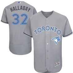 Blue Jays #32 Roy Halladay Grey Flexbase Authentic Collection Father's Day  Stitched MLB Jersey · Sports JerseysBaseball ...