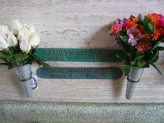 Carolyn Jones, Melrose Abbey Memorial Park, Anaheim, CA